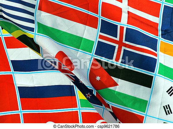 World flags - csp9621786