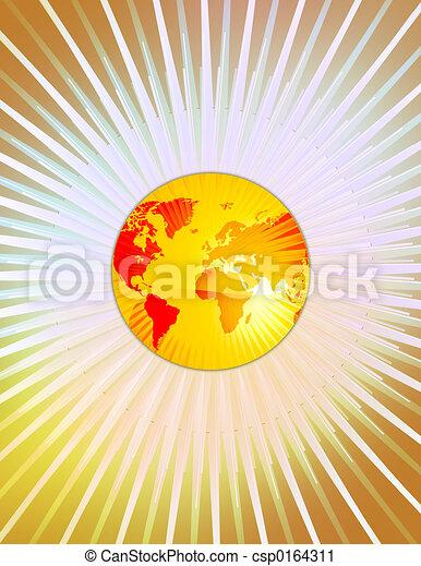 World Globe - csp0164311