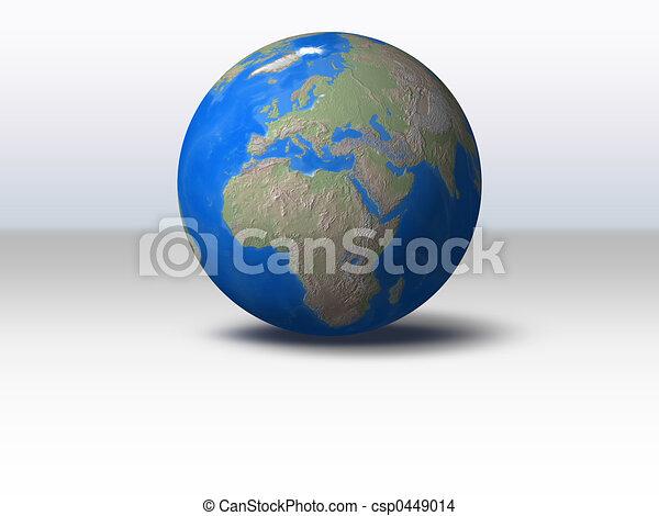 World Globe - csp0449014