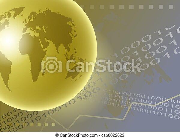 World Globe - csp0022623