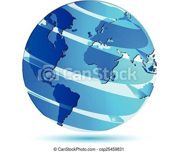 World globe map logo vector world globe map logo vector gumiabroncs Gallery