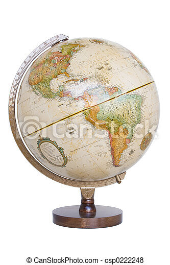 World Globe - csp0222248