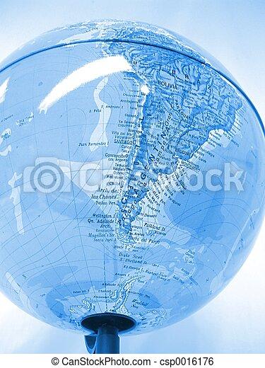 World Globe - csp0016176