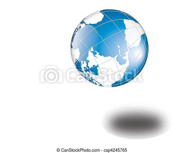World globe - csp4245765