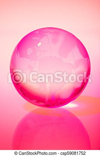 World Globe - csp59081752