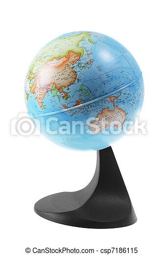 World Globe - csp7186115