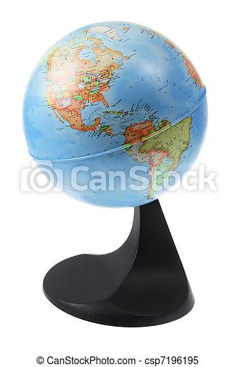 World Globe - csp7196195