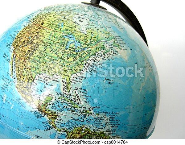 World Globe - csp0014764