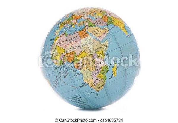 World globe - csp4635734