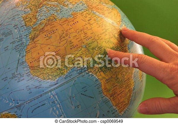 World Globe - csp0069549