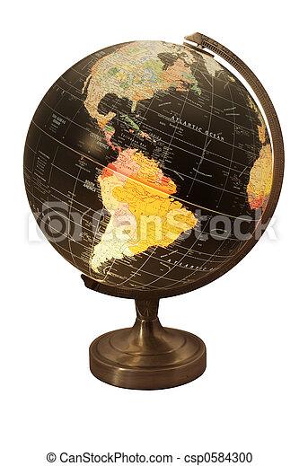 World Globe - csp0584300