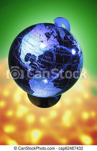World Globe - csp62487432