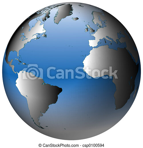 World Globe:Atlantic, with blue-shaded oceans on sweden globe view, world globe with rainbow, russia globe view, world map back view, world map flat view, world globes and maps, world globe online, world map clear view, singapore globe view, world globe outline, world map as globe, norway globe view, world map satellite view, world map full view, world globe with countries flags, world globe map all sides, world map globe style, china globe view, egypt globe view, world map globe green,
