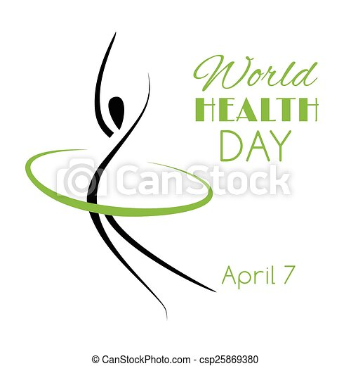 Vector Illustration For The World Health Day
