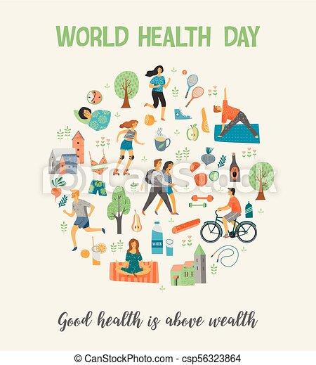 87fc0ef4cd04 World Health Day. Healthy lifestyle.