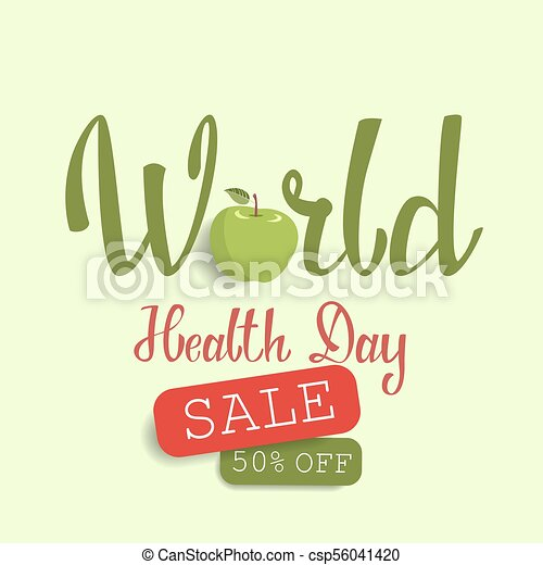 World Health Day Sale Offer With Fresh Fruits