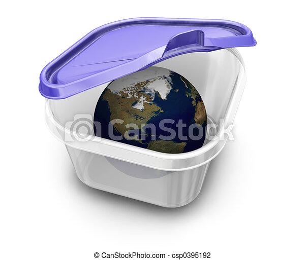 World in a box - csp0395192