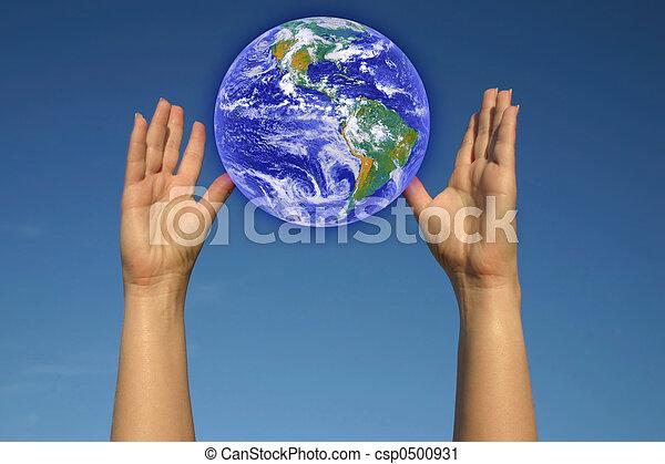 WORLD IN MY HANDS - csp0500931