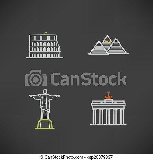 World Landmarks - csp20079337