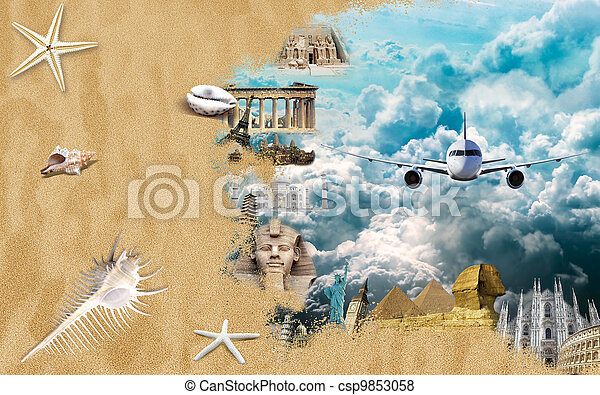 World landmarks - csp9853058