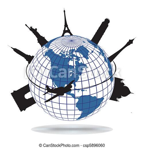 World landmarks - csp5896060