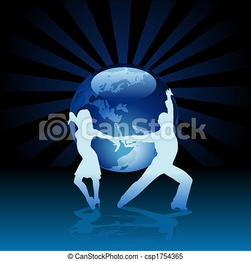 World Latino Dance - csp1754365