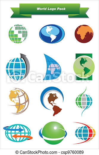 World Logo Pack - csp9760089