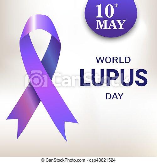 world lupus day purple ribbon vector illustration vector rh canstockphoto com purple ribbon clip art free free purple ribbon clipart
