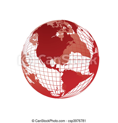 World map 3d globe vector clip art search illustration drawings world map 3d globe csp3976781 gumiabroncs Images