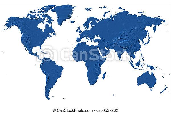 World map africa america asia europe oceania clip art world map stock illustration gumiabroncs Choice Image