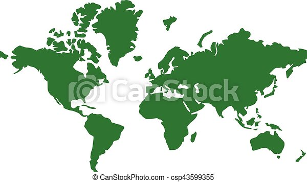 global map clipart