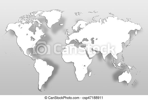 World map clipart search illustration drawings and vector eps world map csp47188911 gumiabroncs Choice Image
