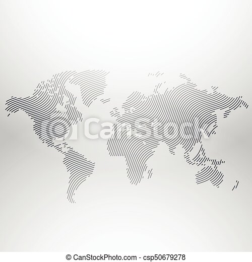 World map design in creative wavy pattern vectors illustration world map design in creative wavy pattern csp50679278 gumiabroncs Gallery
