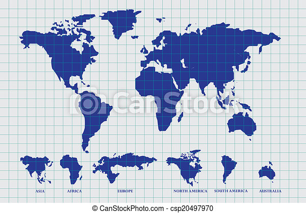 World map draw on paper world map draw on paper csp20497970 gumiabroncs Gallery