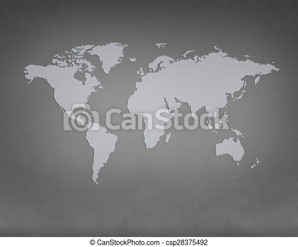 World map image gray concrete background stock illustration world map stock illustration gumiabroncs Images