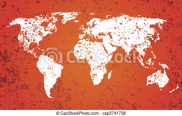 World map with grunge texture vector drawing vector search clip world map csp3741738 gumiabroncs Image collections