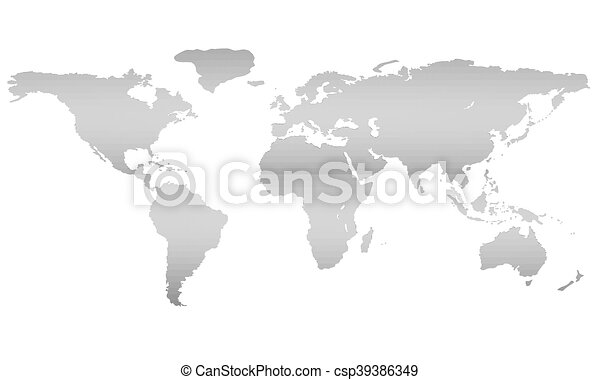 Vector illustration of a world map equator 3d polygon eps world map vector gumiabroncs Gallery