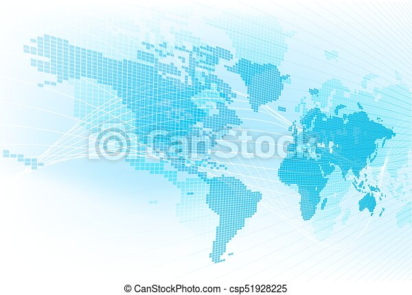 World map global earth abstract background a world map vector world map global earth abstract background csp51928225 gumiabroncs Image collections