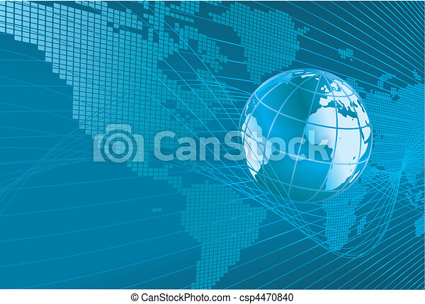 World Map Globe Background A Dynamic 3d World Map With Background