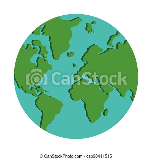World map globe earth icon isolated vector illustration world map globe earth icon csp38411515 gumiabroncs Gallery