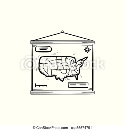 World map hand drawn sketch icon world map hand drawn outline world map hand drawn sketch icon csp55574791 gumiabroncs Images
