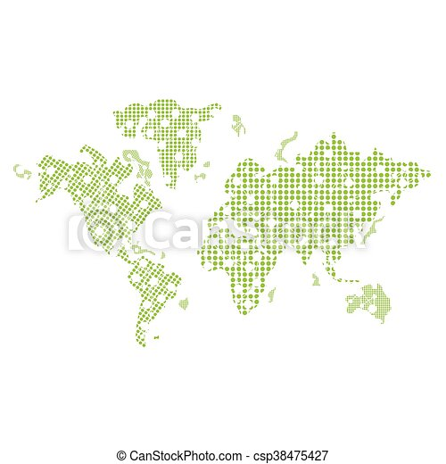 Flat design world map icon vector illustration world map icon csp38475427 gumiabroncs Gallery