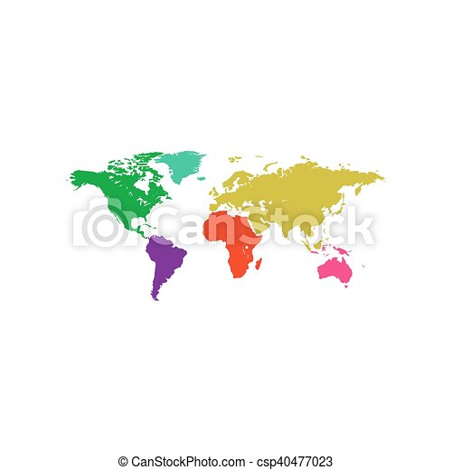 World map icon vector flat simple color pictogram vector world map icon vector gumiabroncs Image collections