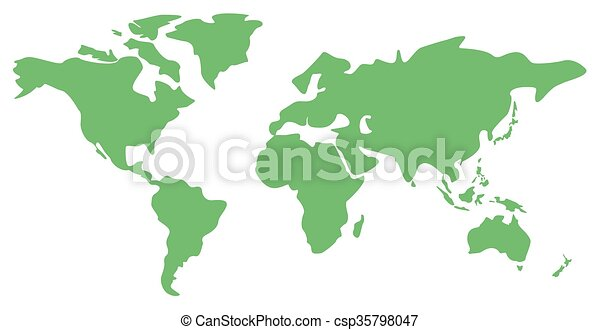 World map illustration world map vector flat design eps vector world map illustration gumiabroncs Images