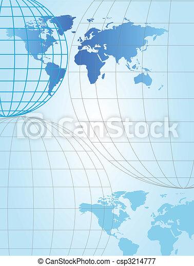 World Map - csp3214777