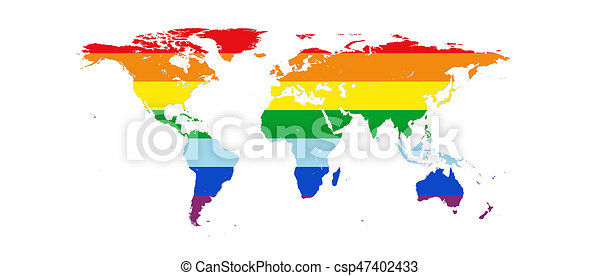 World map in peace colors isolated on white background 3d world map in peace colors isolated on white background 3d illustration publicscrutiny Image collections