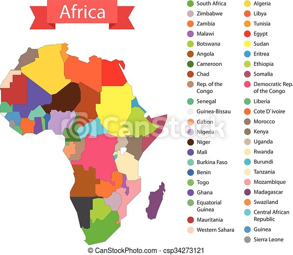 World map infographic template countries of africa world map infographic template countries of africa csp34273121 gumiabroncs Images