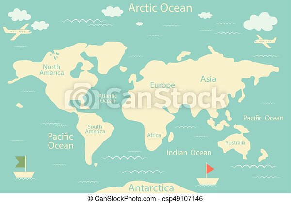 World map isolated on a blue background vector eps vector world map isolated on a blue background vector illustration layout of the infographic layout flat gumiabroncs Gallery