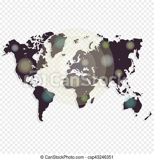 World map isolated on white background worldmap template clipart world map isolated on white background worldmap template for website design cover annual gumiabroncs Gallery