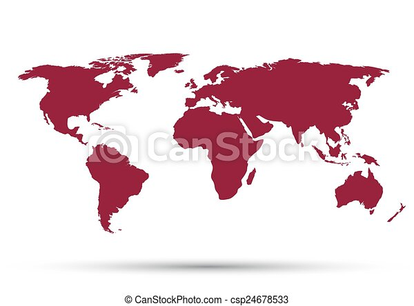 World map on a white background vectors search clip art world map on a white background csp24678533 gumiabroncs Images